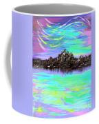 Aurora Borealis Poster Coffee Mug