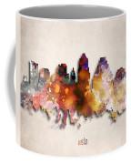 Austin Painted City Skyline Coffee Mug
