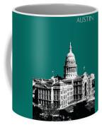 Austin Texas Capital - Sea Green Coffee Mug