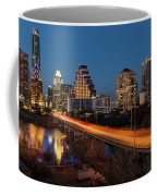Austin, Texas Cityscape Evening Skyline Coffee Mug
