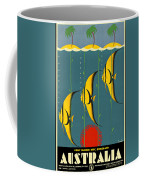Australia Vintage Travel Poster Coffee Mug