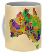 Australia Watercolor   Coffee Mug