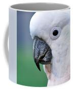 Australian Birds - Cockatoo Up Close Coffee Mug