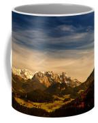 Austrian Autumn Scenic Panorama Coffee Mug