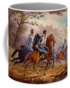 Austrian Hussars In Pursuit Coffee Mug