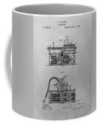 Authentic Thomas Edison Phonograph Patent Coffee Mug
