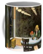 Automat Coffee Mug by Edward Hopper