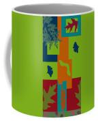 Autumn Abstract A La Matisse Coffee Mug