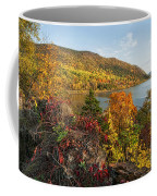 Autumn Along The Hudson Coffee Mug