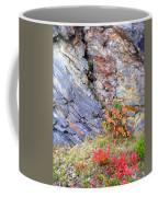 Autumn And Rocks Vertical Coffee Mug