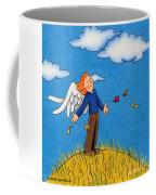 Autumn Angel Coffee Mug by Sarah Batalka
