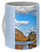 Autumn At Bald Mountain Pond Coffee Mug