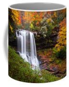 Autumn At Dry Falls - Highlands Nc Waterfalls Coffee Mug