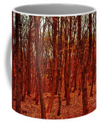 Autumn At Formby Woods  Coffee Mug