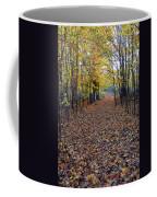 Autumn At Mono Cliffs Coffee Mug