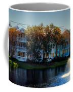 Autumn At Old Key West Resort Panorama Walt Disney World Coffee Mug