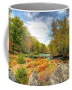 Autumn At The Creek - Green Lane - Pennsylvania - Usa Coffee Mug
