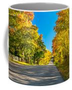 Autumn Back Road Coffee Mug