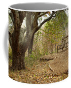 Autumn Bench Coffee Mug