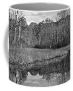 Autumn Black And White Coffee Mug