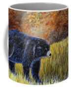 Autumn Black Bear Coffee Mug