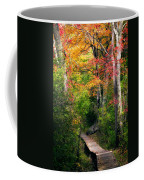 Autumn Boardwalk Coffee Mug by Bill Wakeley