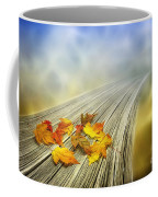 Autumn Bridge Coffee Mug by Veikko Suikkanen