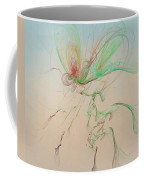 Autumn Butterfly Abstract Coffee Mug