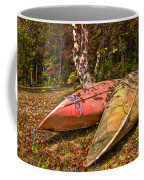 Autumn Canoes Coffee Mug