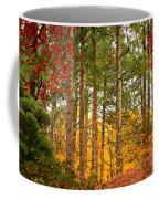 Autumn Canvas Coffee Mug by Carol Groenen