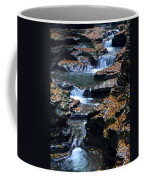 Autumn Cascade Coffee Mug by Frozen in Time Fine Art Photography