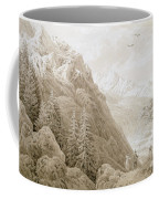 Autumn Coffee Mug by Caspar David Friedrich