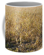 Autumn Cattle Silage Corn In Maine Coffee Mug by Keith Webber Jr