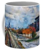 Autumn Chicago White Sox Us Cellular Field Mixed Media 03 Coffee Mug