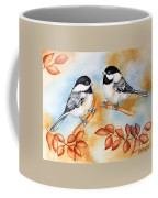 Autumn Chickadees Coffee Mug