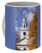 Autumn Church Coffee Mug