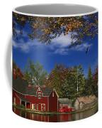 Autumn Church Row Coffee Mug