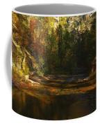 Autumn Colors By The Creek  Coffee Mug