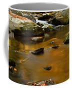 Autumn Colors On Little River Coffee Mug