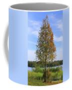 Autumn Cypress Tree Coffee Mug