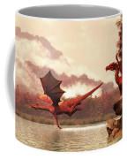 Autumn Dragons Coffee Mug