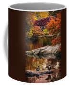 Autumn Duck Couple Coffee Mug