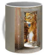 Autumn Entrance Coffee Mug