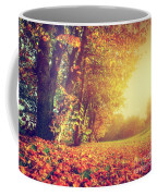 Autumn Fall Landscape In Park Coffee Mug