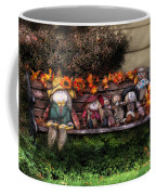 Autumn - Family Reunion Coffee Mug by Mike Savad