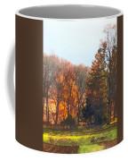 Autumn Farm With Harrow Coffee Mug