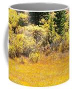 Autumn Fire In The Grass Coffee Mug