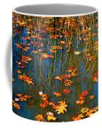 Autumn  Floating Coffee Mug by Peggy Franz