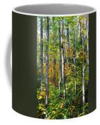 Autumn Forest Detail Coffee Mug