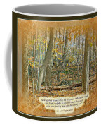 Autumn Forest - George Washington Carver Quote Coffee Mug